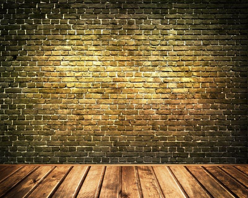 Vecchia parete di mattoni illustrazione di stock