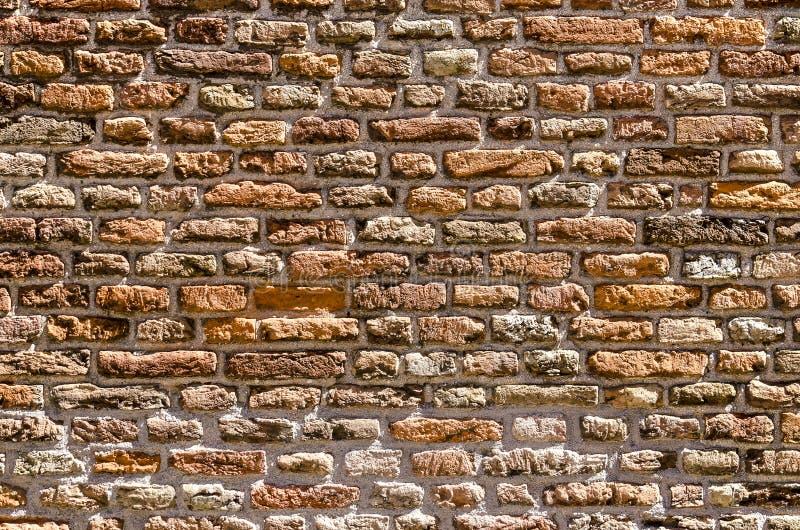 Vecchia parete di muratura fotografia stock