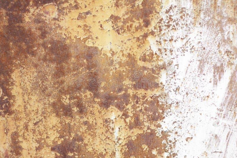 Vecchia parete metallica Porta del garage Struttura immagine stock libera da diritti