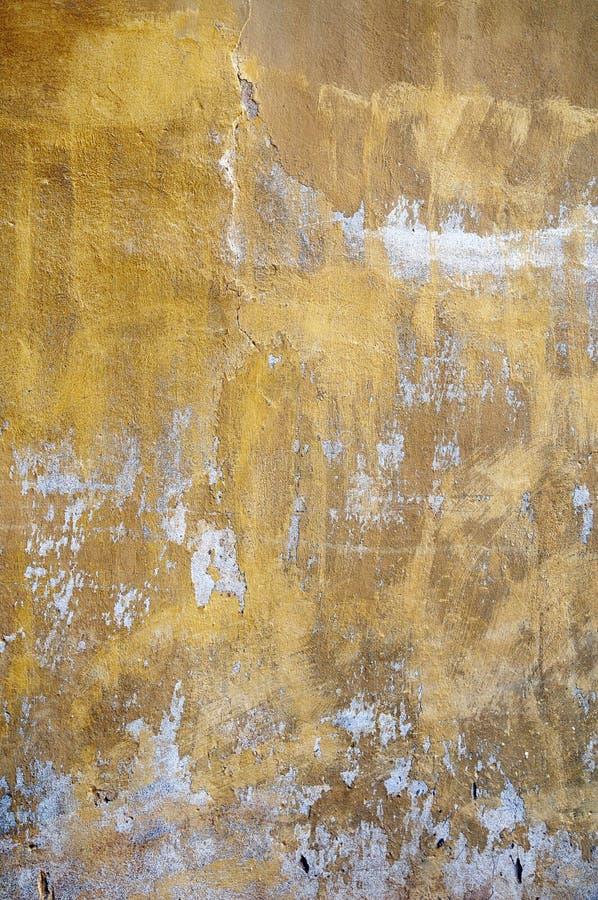 Vecchia parete rustica dello stucco fotografia stock libera da diritti