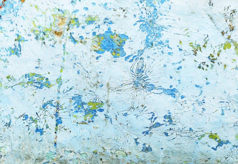 Vecchia parete rustica dello stucco immagini stock