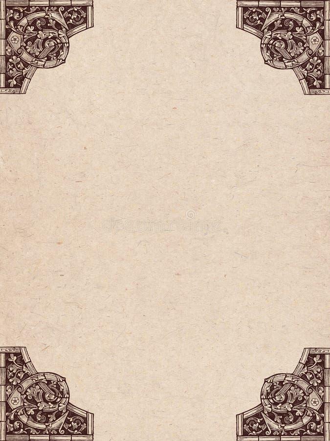 Vecchia pergamena royalty illustrazione gratis