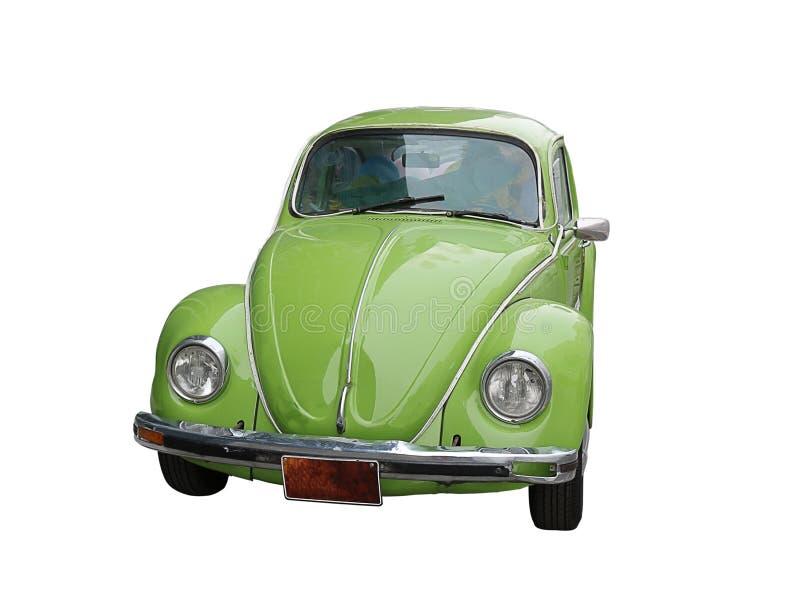 Vecchia piccola retro automobile immagini stock