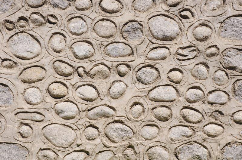 Vecchia pietra con la parete del gesso fotografia stock libera da diritti