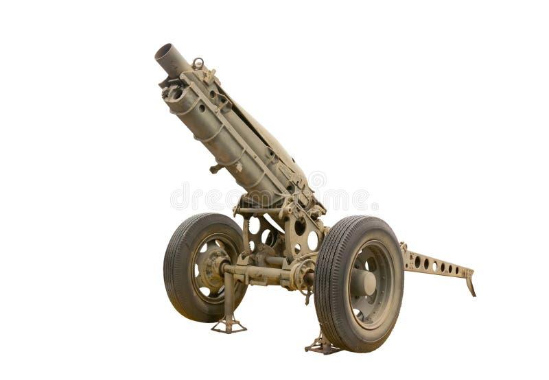 Vecchia pistola al museo immagine stock