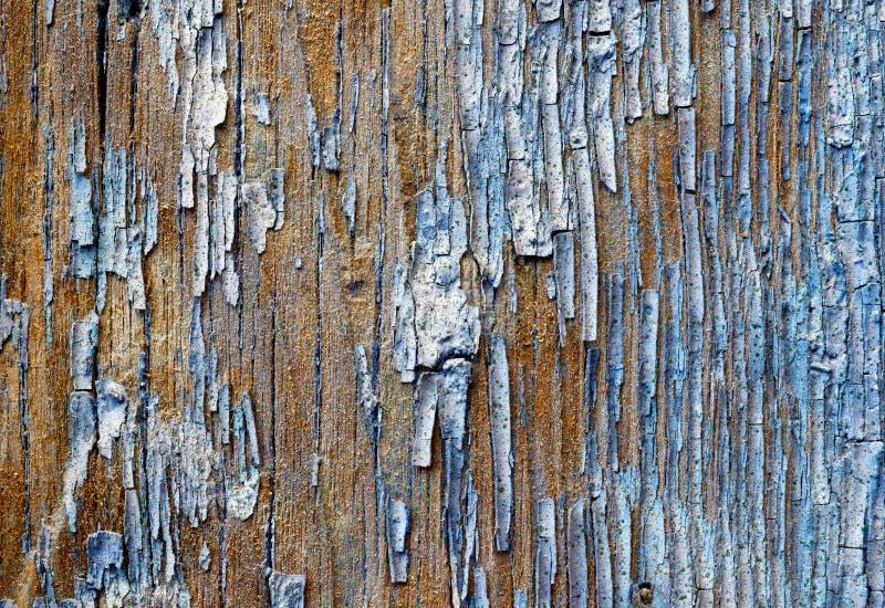 Vecchia plancia di legno dipinta immagini stock libere da diritti