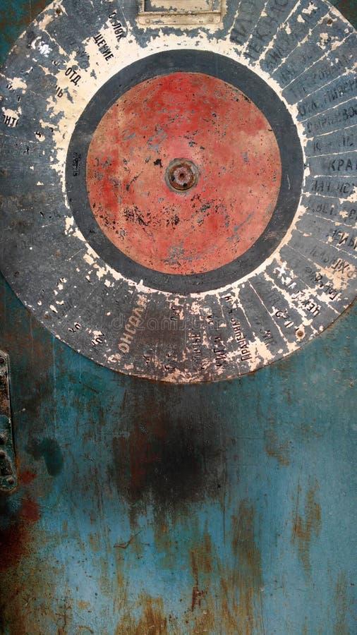 Vecchia porta del colorfull fotografia stock libera da diritti