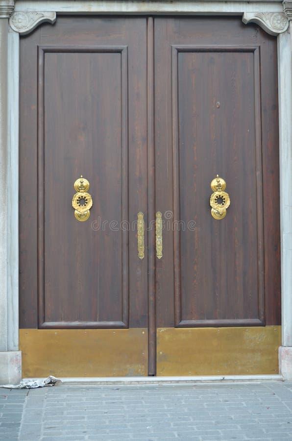 Vecchia porta dell'ottomano immagini stock libere da diritti
