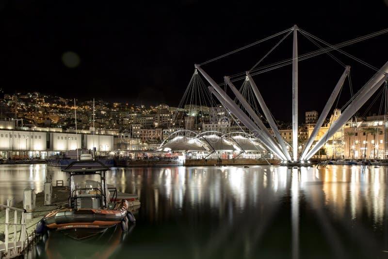 Vecchia porta Genova fotografie stock libere da diritti