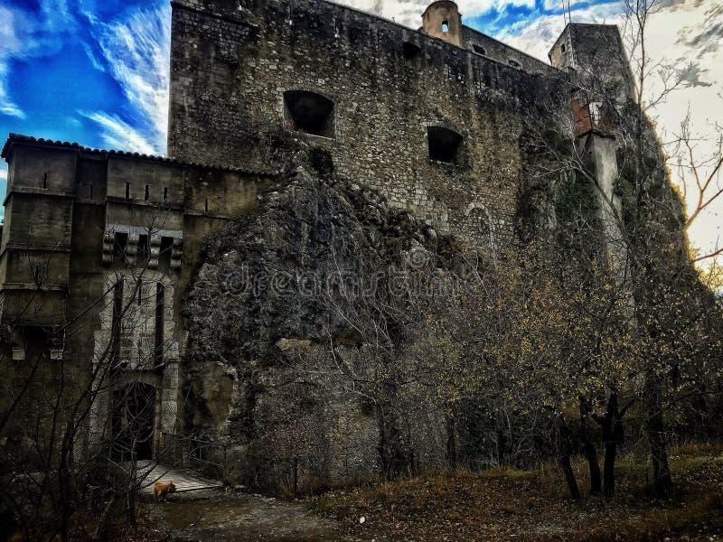 Vecchia prigione in Francia del sud fotografie stock libere da diritti