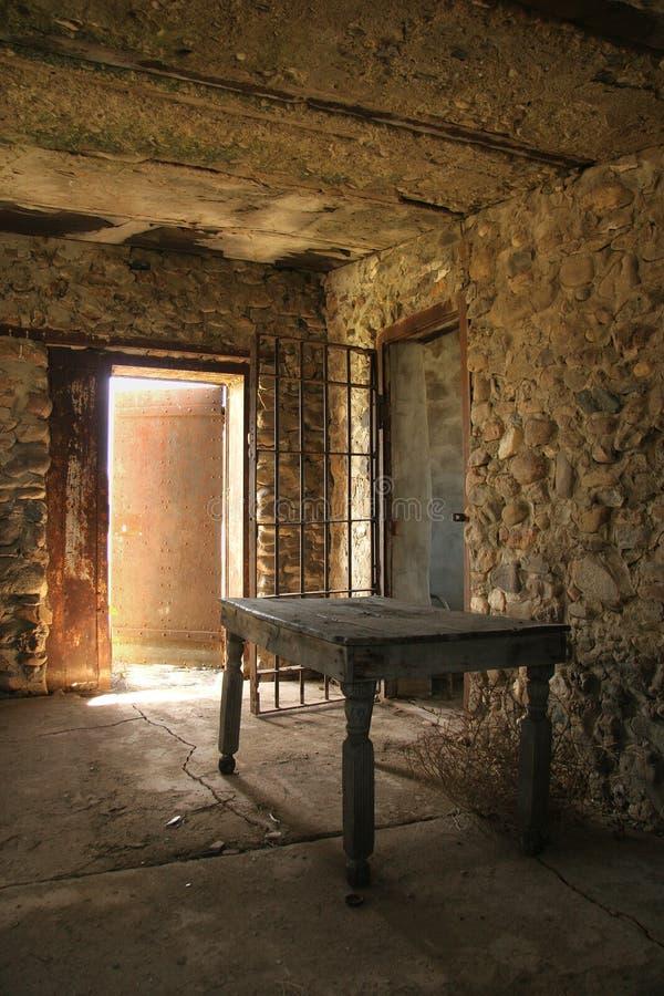 Vecchia prigione occidentale fotografia stock libera da diritti