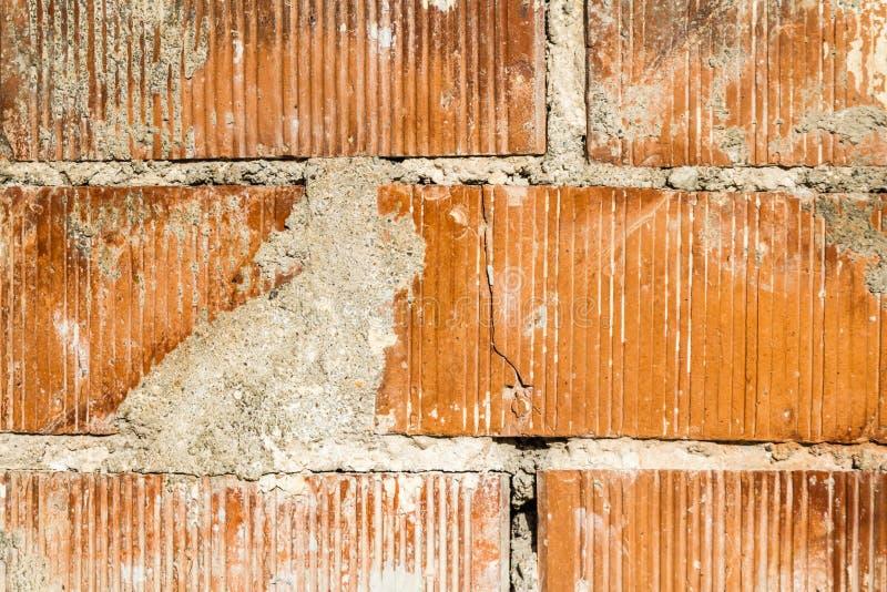 Vecchia priorità bassa del muro di mattoni immagini stock libere da diritti
