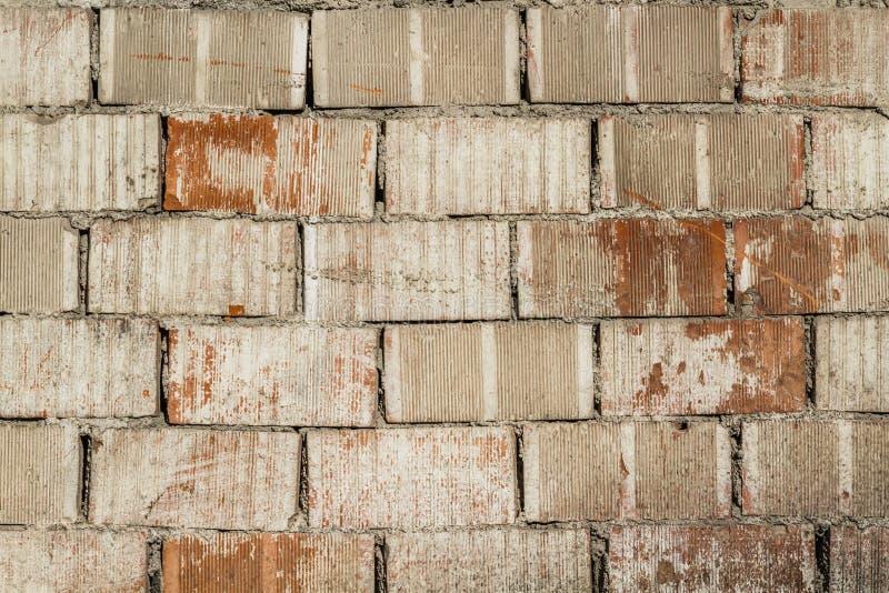 Vecchia priorità bassa del muro di mattoni fotografia stock