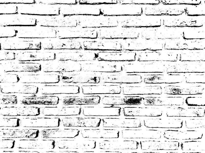 Vecchia priorità bassa del muro di mattoni fotografia stock libera da diritti