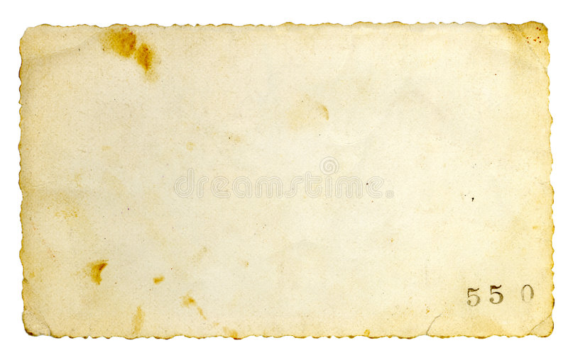 Vecchia priorità bassa di carta fotografia stock