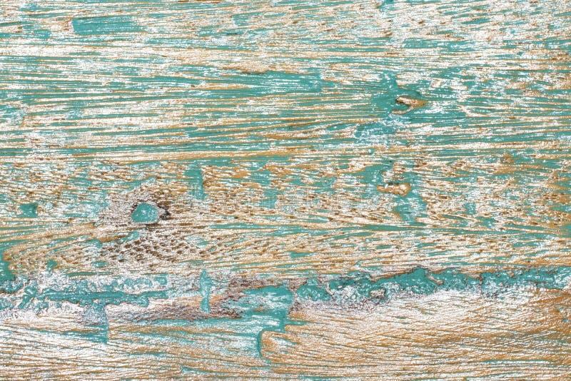 Vecchia priorità bassa di legno verniciata immagini stock libere da diritti