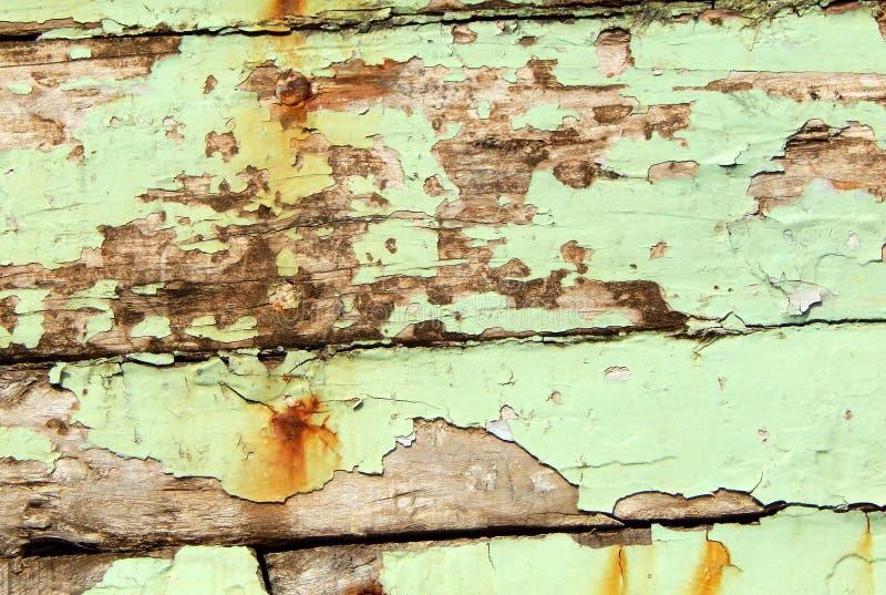 Vecchia priorità bassa di legno verniciata fotografia stock