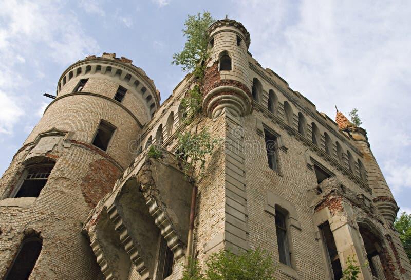 Vecchia proprietà terriera gotica immagine stock libera da diritti