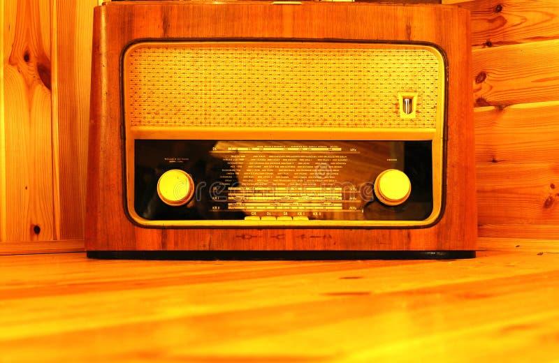 Vecchia radio fotografie stock