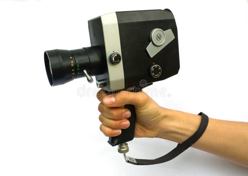 Vecchia retro macchina fotografica immagini stock