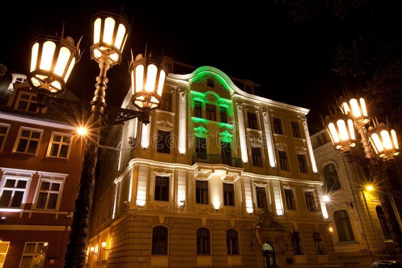 Vecchia Riga immagini stock libere da diritti