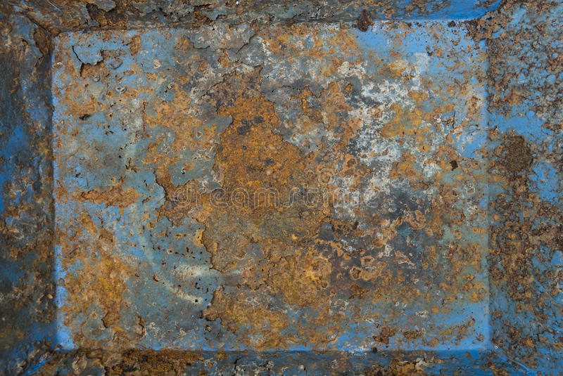 Vecchia ruggine del ferro del metallo illustrazione vettoriale