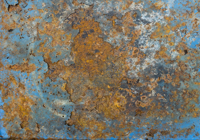 Vecchia ruggine del ferro del metallo immagini stock libere da diritti