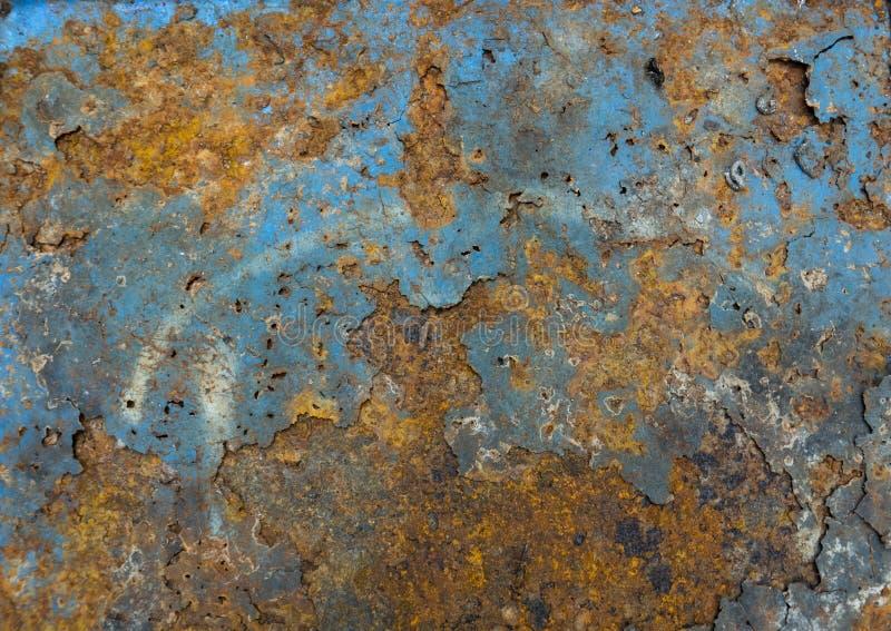 Vecchia ruggine del ferro del metallo fotografie stock libere da diritti