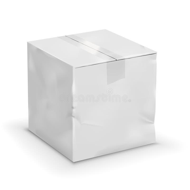 Vecchia scatola illustrazione di stock