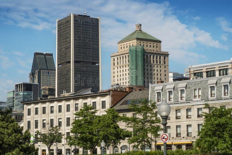 Vecchia scena di Montreal immagini stock libere da diritti
