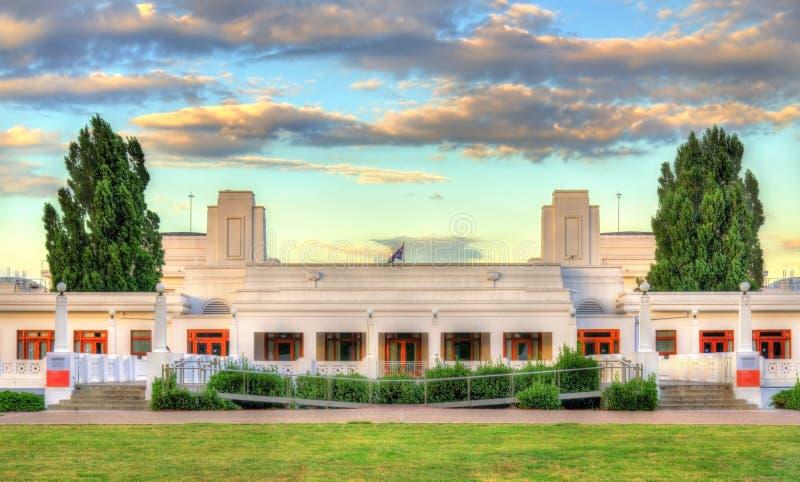 Vecchia sede del parlamento, servita dal 1927 al 1988 Canberra, Australia fotografia stock