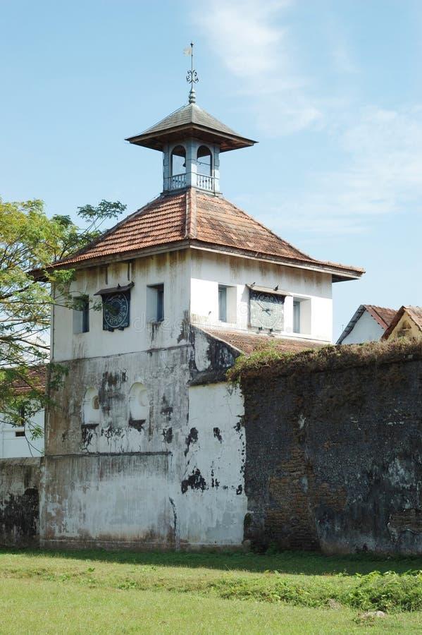 Vecchia sinagoga di Paradesi a Cochin, India fotografia stock libera da diritti