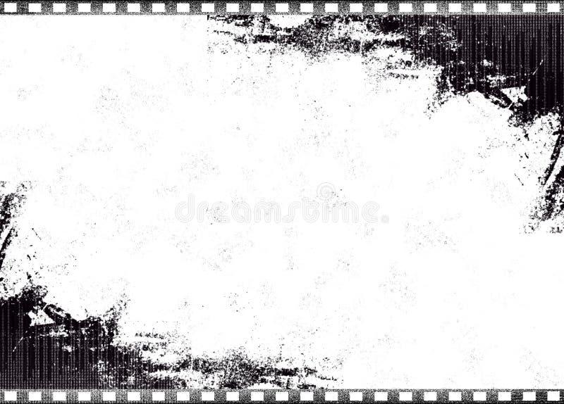 Vecchia singola pellicola illustrazione vettoriale