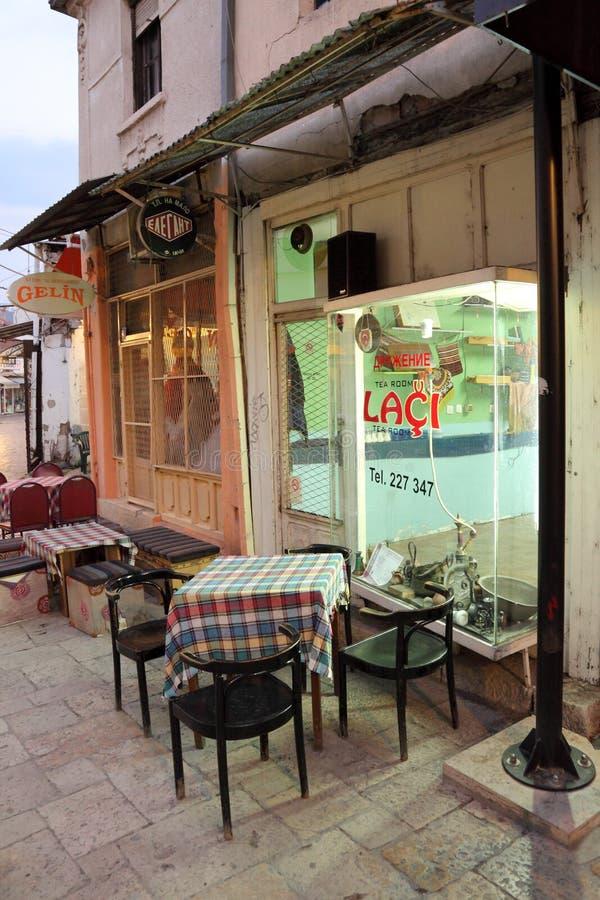 Vecchia Skopje fotografia stock