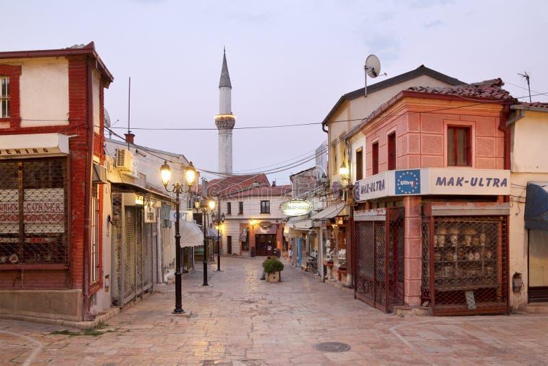 Vecchia Skopje fotografie stock