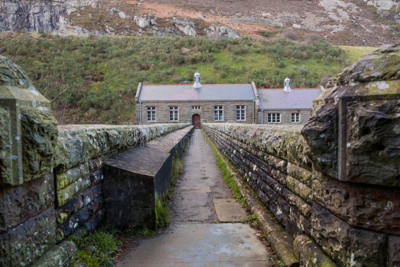 Vecchia stazione di pompaggio in Galles fotografia stock libera da diritti