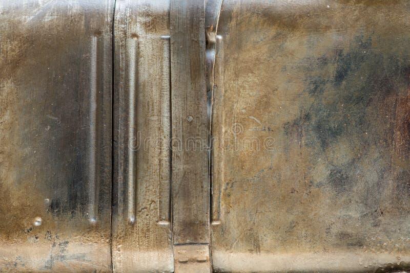 Vecchia struttura arrugginita del metallo fotografia stock libera da diritti