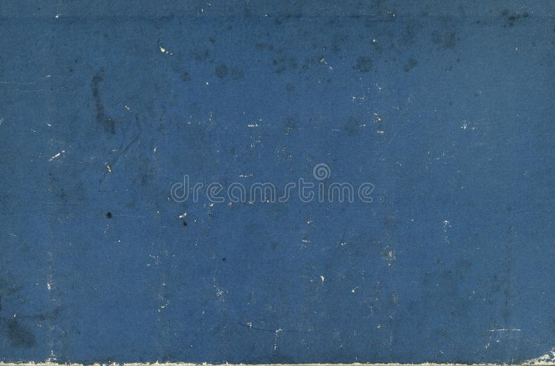 Vecchia struttura blu d'annata fotografie stock