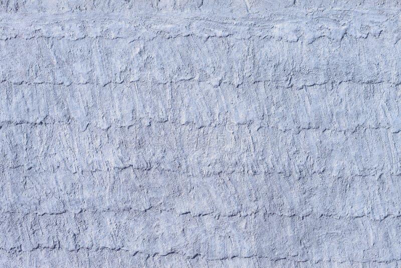 Vecchia struttura blu del contesto della parete del cemento della pittura immagine stock libera da diritti