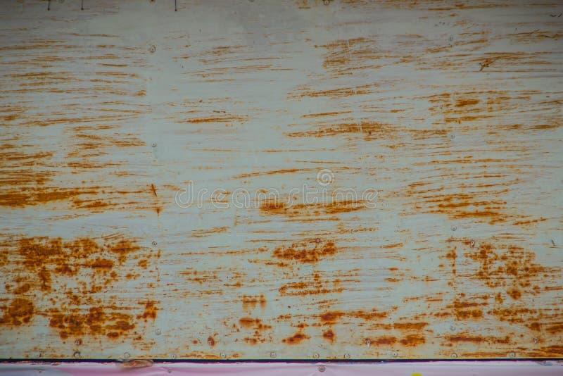 Vecchia struttura d'acciaio stagionata e graffiata Stee Grungy ed arrugginito immagine stock