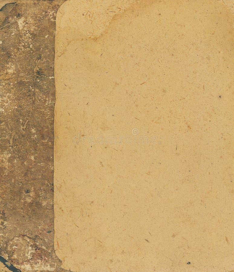 Vecchia struttura del cartone fotografia stock