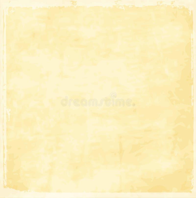 Vecchia struttura del documento dell'annata royalty illustrazione gratis