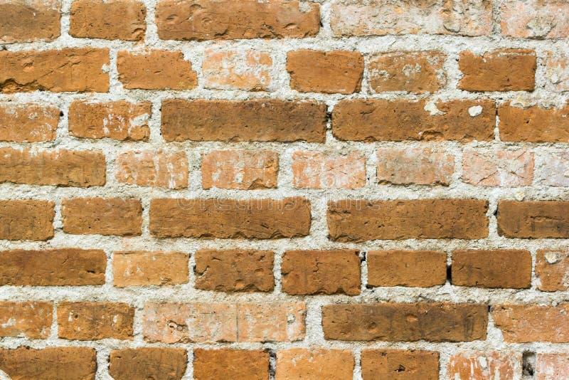 Vecchia struttura del modello del muro di mattoni Fondo astratto dei mattoni immagini stock libere da diritti