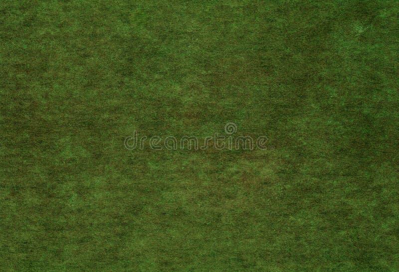 Vecchia struttura della copertura del Libro verde fotografie stock libere da diritti
