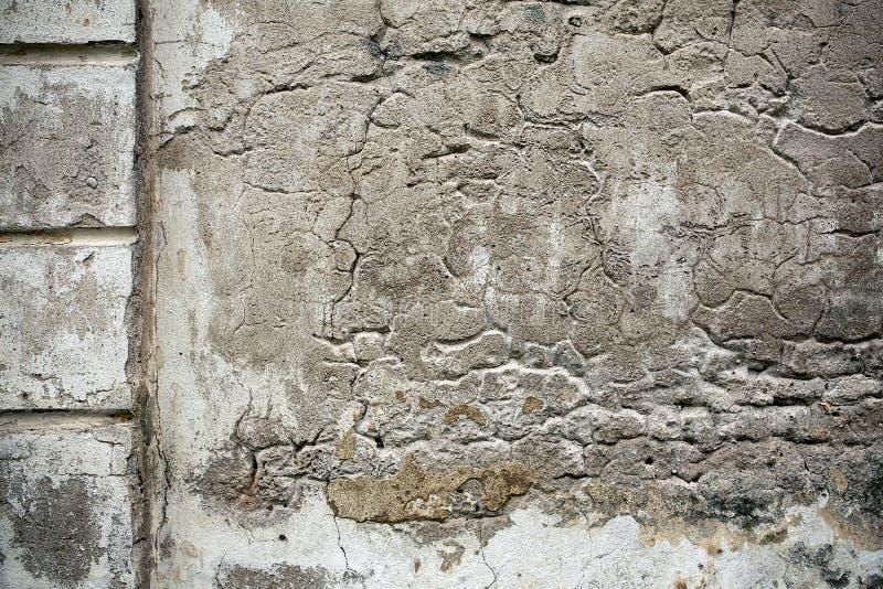 Vecchia struttura della parete del cemento immagini stock libere da diritti