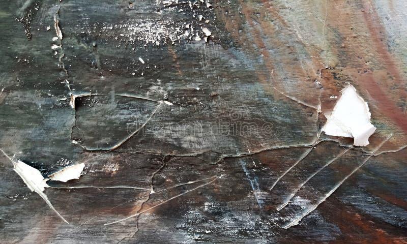Vecchia struttura della parete di lerciume di vettore del fondo concreto del pavimento per l'estratto della creazione immagini stock