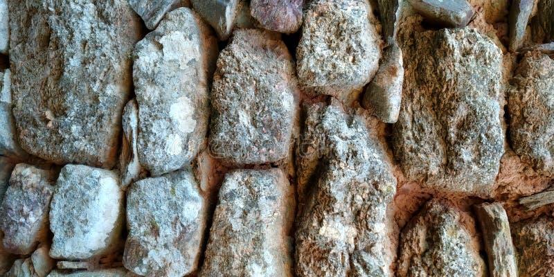 Vecchia struttura della parete di pietra della Camera immagini stock libere da diritti