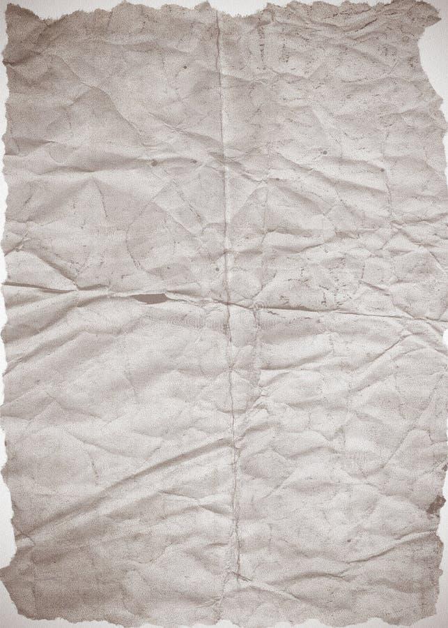 Vecchia struttura di carta della priorità bassa immagini stock libere da diritti