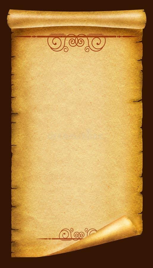 Vecchia struttura di carta. Priorità bassa antica immagine stock libera da diritti