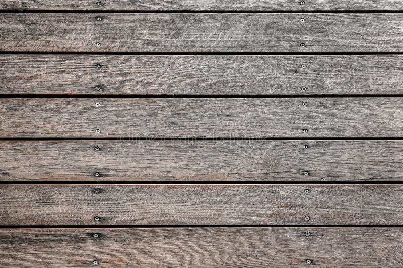 Vecchia struttura di legno grigia per fondo o il modello Vecchia fine di legno di struttura in su Struttura della parete del gran immagine stock libera da diritti